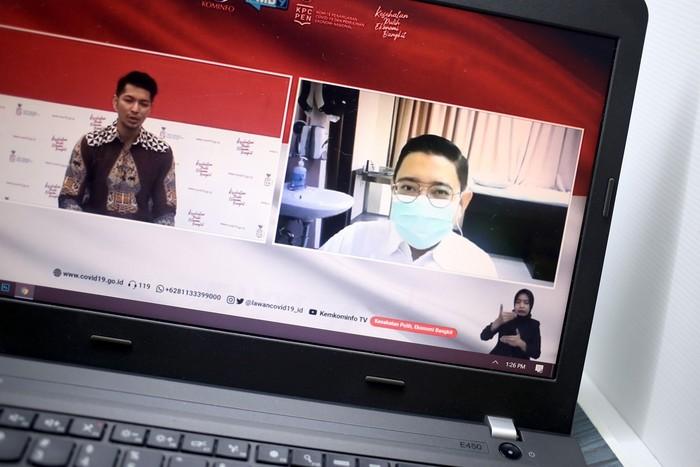 Vaksinolog dokter Dirga Sakti Rambe