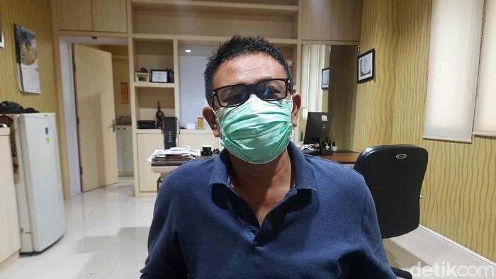 Wakil Sekretaris Satgas Penanganan COVID-19 Kota Surabaya Irvan Widyanto