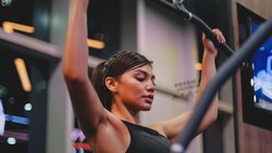 10 Potret Jihane Almira Nge-gym, Strong Girl!