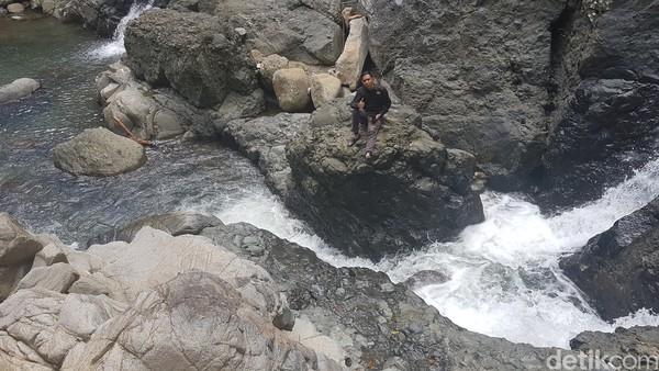 Salu Sitammu memiliki arti sebagai pertemuan sungai.(Abdy Febriady/detikcom)
