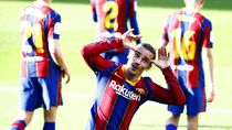 Antoine Griezmann di Barca: Kini Have Fun, Pamer Senyuman
