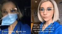 Video TikTok Remehkan Covid Miliknya Viral, Perawat Ini Langsung Dirumahkan