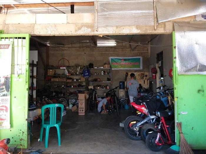 Bengkel Petrikbike di Bekasi bisa ubah motor bensin jadi motor listrik