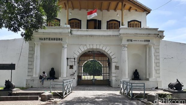 Benteng Vastenburg kamp tentara Belanda yang disiapkan jadi rumah karantina Pemkot Solo