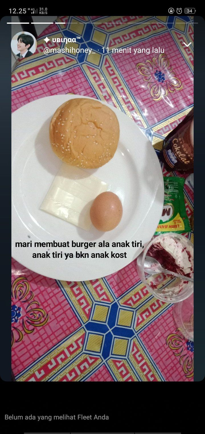 Burger 'Anak Tiri'