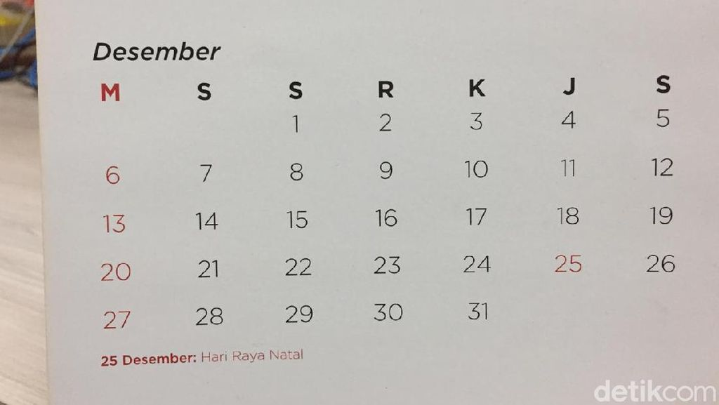 3 Fakta Cuti Bersama Desember 2020 yang Dipangkas 3 Hari