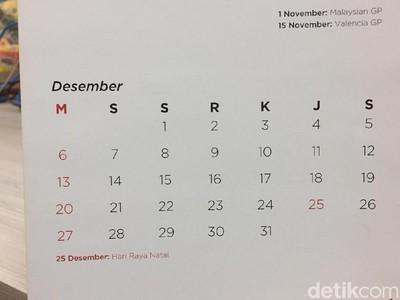 Libur Akhir Tahun dan Cuti Bersama Desember dalam Infografis