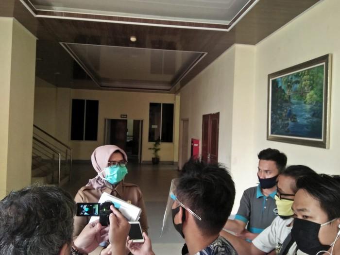 Kepala Badan Pengelolaan Keuangan dan Aset Daerah (BPKAD) Provinsi Banten Rina Dewiyanti