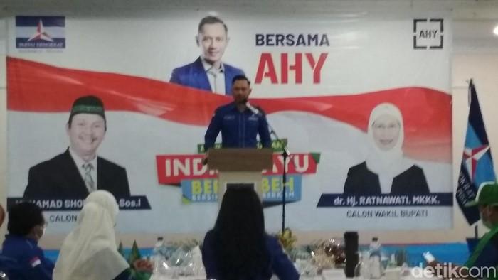 Ketua Umum Partai Demokrat Agus Harimurti Yudhoyono