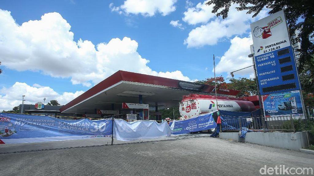 SPBU MT Hartono Ditutup Sementara, Isi Bensin Bisa di Sini