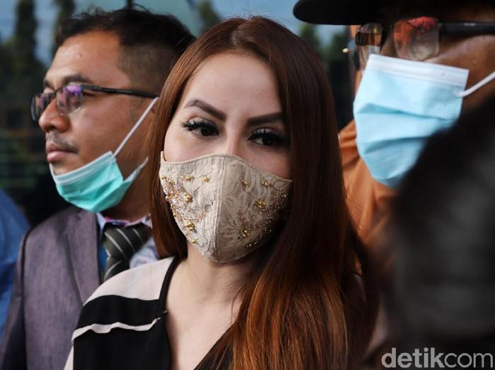 Nita Thalia saat ditemui di Pengadilan Agama Jakarta Utara.