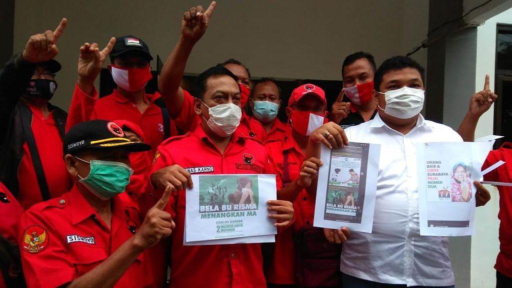 Pasang Foto Risma untuk Kampanye, PDIP Laporkan Tim Machfud Arifin