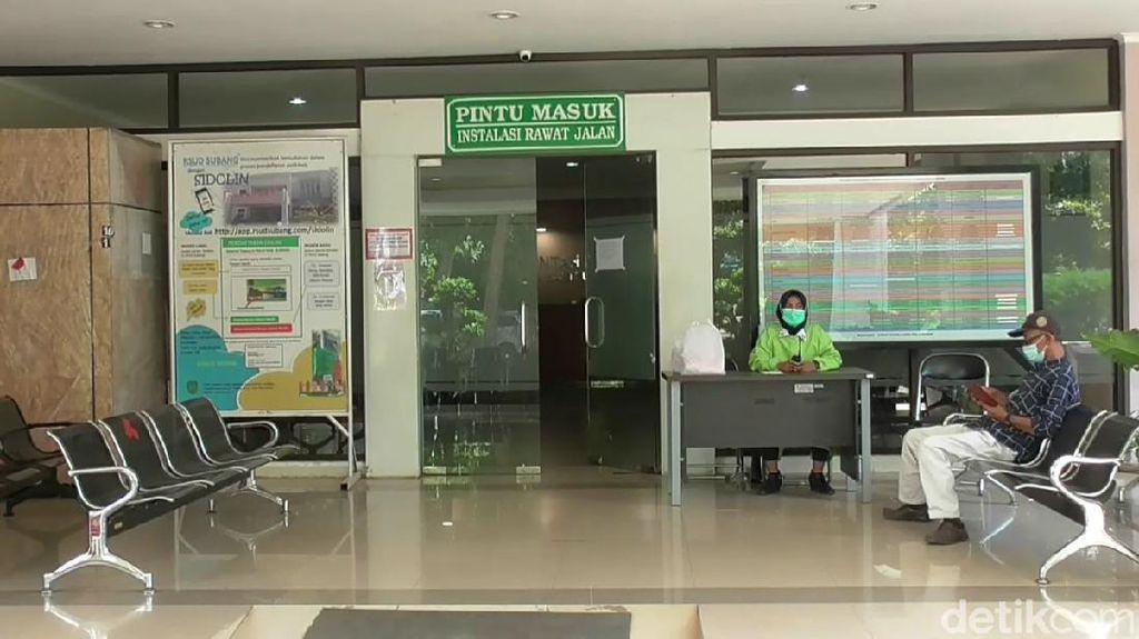 Puluhan Nakes Positif COVID-19, Pelayanan Rawat Jalan RSUD Subang Ditutup