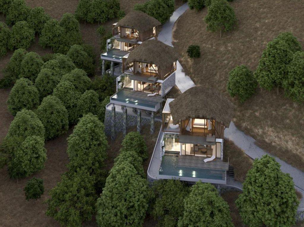 Lagi Pandemi, Hanging Pool Villa Mewah Ini Justru Diluncurkan