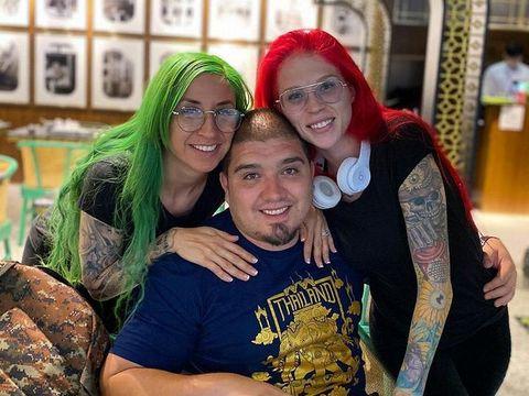 Pria poligami