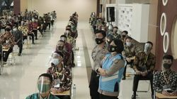 Rekrutmen Bintara Polri  Proaktif 2021, Polda Lampung: Prinsipnya BETAH