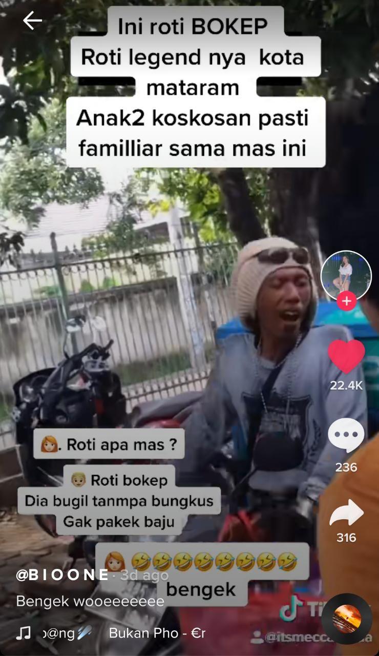 Roti Bokep Jadi Favorit Anak Kos di Mataram