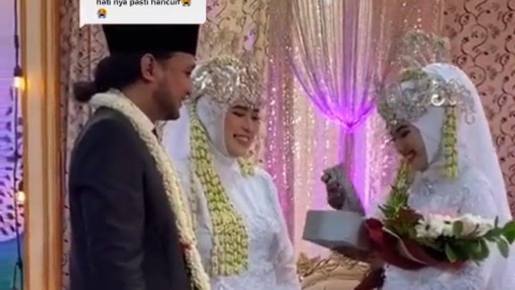 Viral Video Pria Menikahi Dua Wanita Sekaligus di Bangkalan