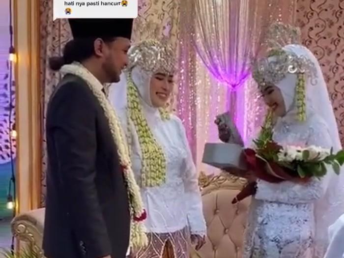 viral pria nikahi dua perempuan