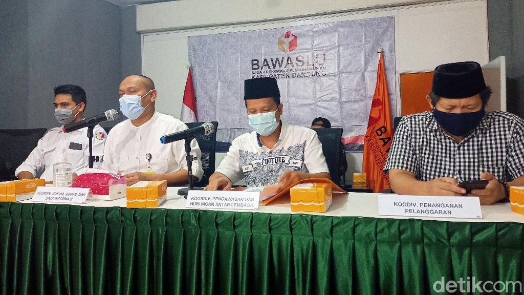 39 Pengawas TPS Kabupaten Bandung Positif COVID-19