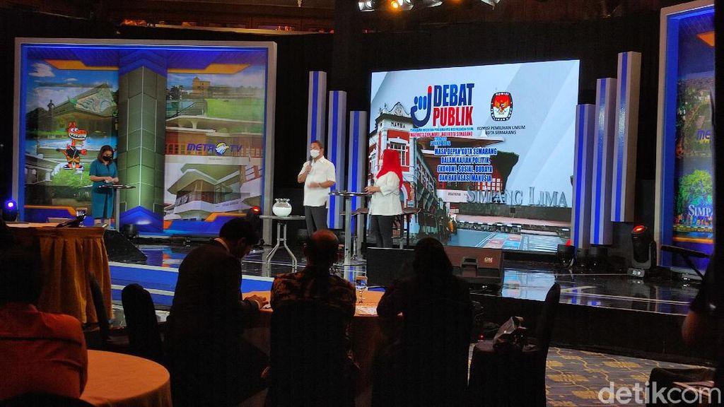 Debat Publik Calon Tunggal Pilwalkot Semarang, Janji Nihil Penggusuran