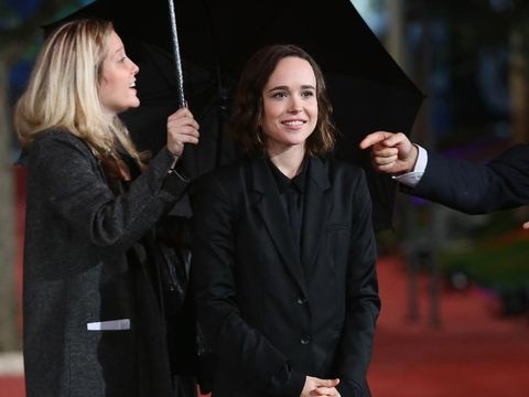 ROME, ITALY - OCTOBER 18:  Ellen Page walks the red carpet for 'Freeheld' during the 10th Rome Film Fest at Auditorium Parco Della Musica on October 18, 2015 in Rome, Italy.  (Photo by Ernesto Ruscio/Getty Images)