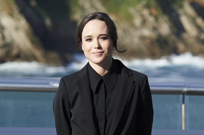 LONDON, ENGLAND - FEBRUARY 07: Ellen Page attends a photocall for Netflix