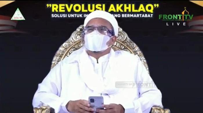 Habib Rizieq Syihab Hadiri Acara Dialog 212 Secara Virtual