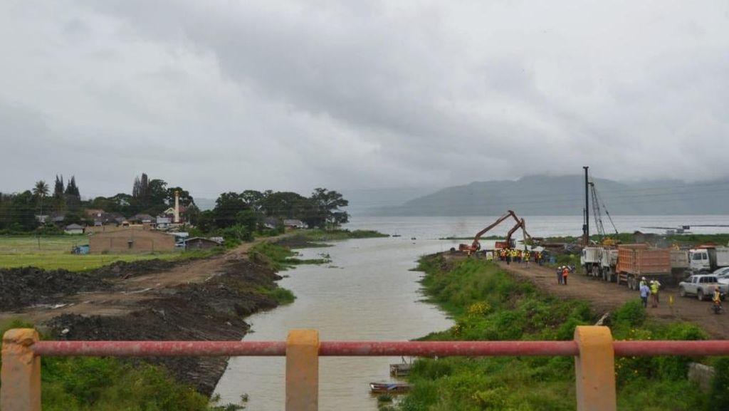 Jembatan Penyambung Sumatera dan Pulau Samosir Mulai Dibangun