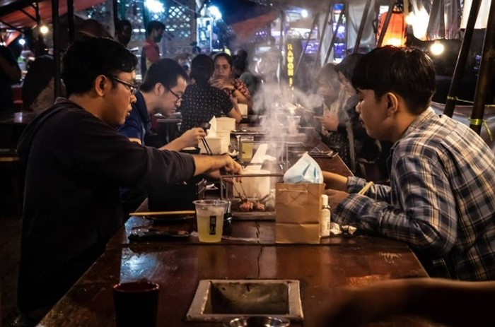 Kawasan Kuliner Malam Kaki Lima di Tangerang