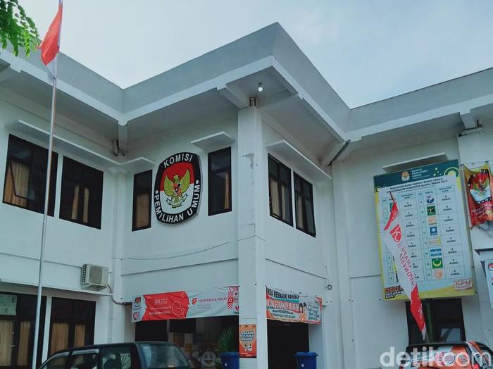 Kantor KPU Kabupaten Klaten, Rabu (2/12/2020).
