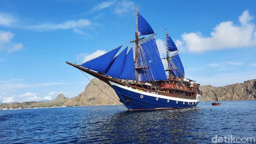 Sejarah Pinisi yang Kerap Jadi Ancaman Kapal Asing