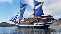Potret Mewahnya Kapal Pinisi untuk Wisata di Labuan Bajo