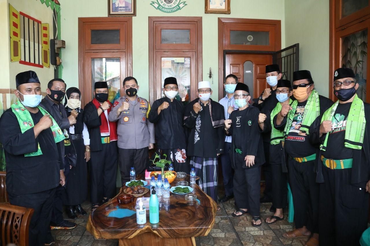 Kapolda Metro Jaya Irjen Fadil Imran menemui ormas dan tokoh Betawi (ist)