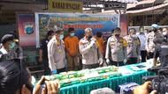 Polisi Tembak Mati 1 Kurir Narkoba di Medan, 31 Kg Sabu Disita