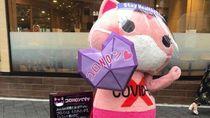 Potret Kucing Maskot COVID-19 Jepang