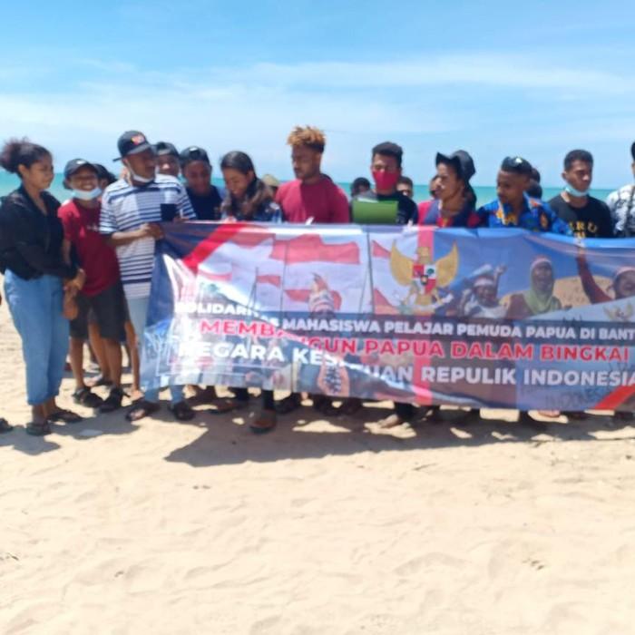 Mahasiswa dan Pelajar Papua di Banten Tolak Ajakan Referendum