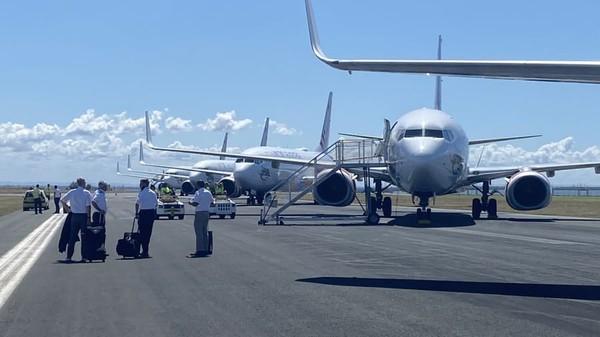 Tak hanya mengantarkan pesawat kosong, maskapai ini juga melakukan uji coba pada pesawat yang sudah dimodifikasi atau beralih fungsi. (Jet Test and Transport)