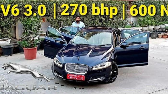 Mobil mewah Jaguar XF-S dibanderol Rp 250 jutaan
