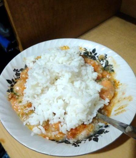 Kombinasi Nasi yang Aneh