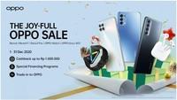 OPPO Gelar Promo Akhir Tahun, Ada Cashback hingga Rp 1 Juta