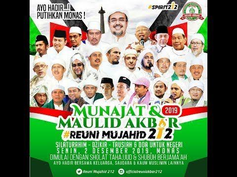 Poster Reuni 212 tahun 2019
