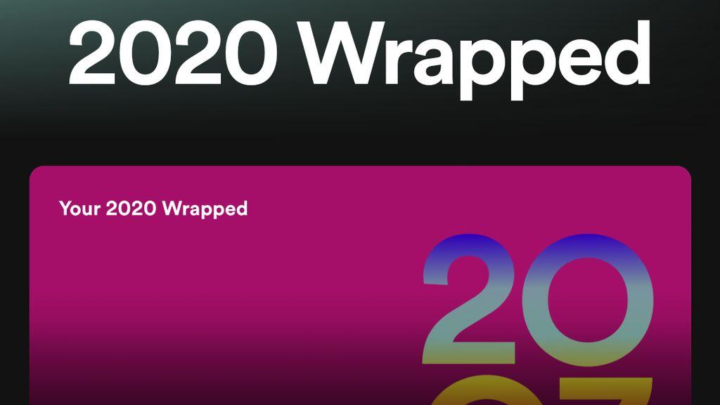 Viral Spotify Wrapped 2020, Begini Cara Bikinnya!