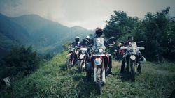 Touring Cantik Komunitas Motor di Flores