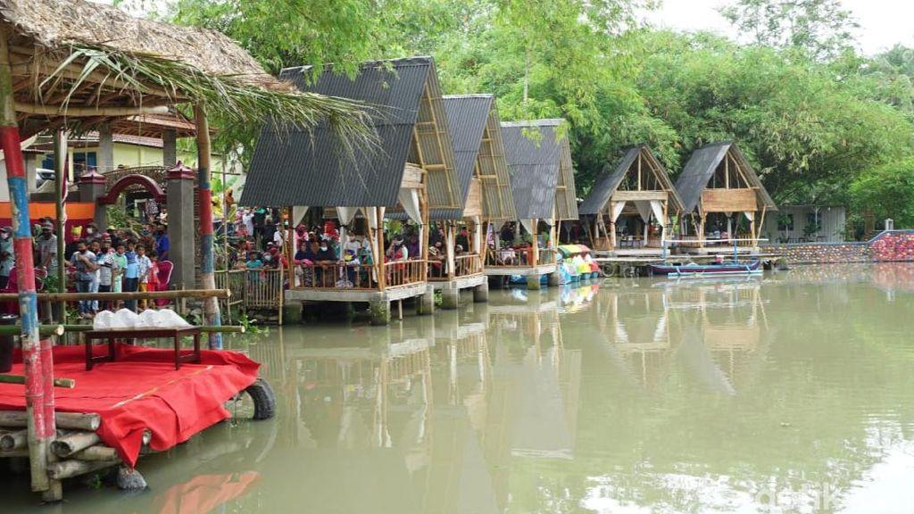 Warga Desa Banyuwangi Sulap Sungai Kotor Jadi Wisata Waduk Lecari