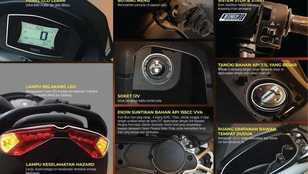 Yamaha Nmax Connected rilis di Malaysia
