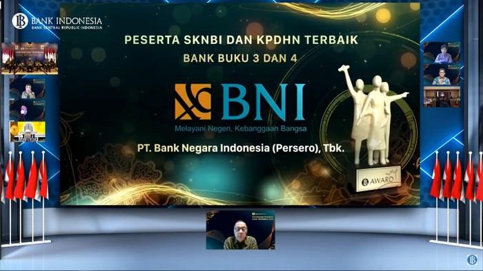Bank Indonesia Beri 2 Penghargaan untuk BNI