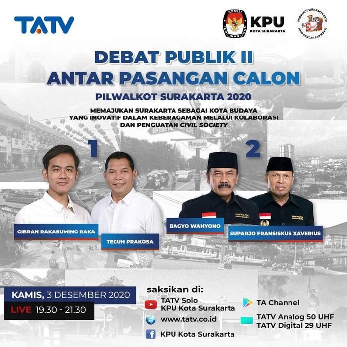 Debat II Pilkada Solo