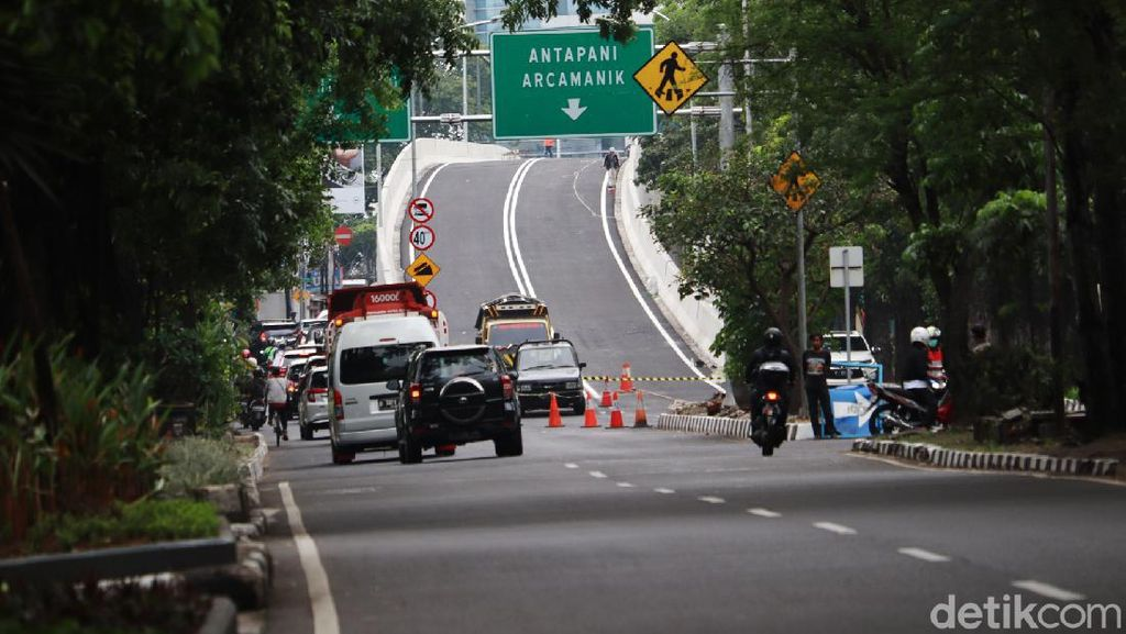 Mantab, Flyover Jalan Jakarta-Supratman Segera Diujicoba