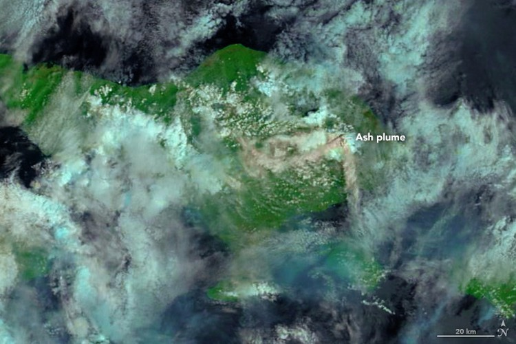 Foto satelit NASA Indonesia